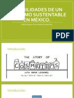 Posibilidades de Un Consumo Sustentable en Mexico