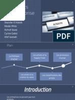 Sourcing Processus Achat
