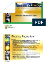 Electrical Regulations