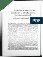 [2-En] Vigotski e Luria - 1925 - Introdução à Edição Russa de Para Além Do Princípio Do Prazer de Freud