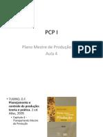 Unicarioca - PCP I PMP Aula 4