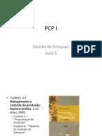 Unicarioca -PCPI Gestão Estoque Aula 5