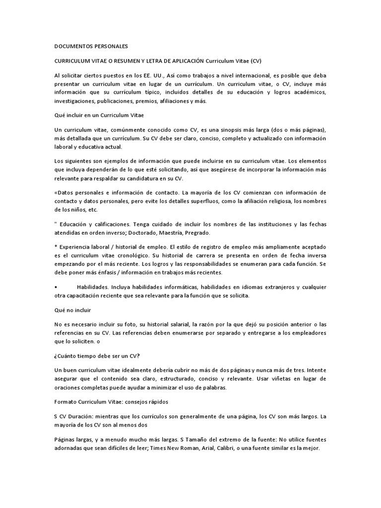 Vistoso Buenos Ejemplos De Objetivos De Reanudación Colección de ...