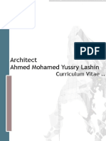 Architect Ahmed Lashin