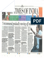 Times of India - Rosedale Article August 09