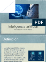Inteligencia Artificial y Usos.