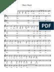 Mary Mack - for three part choir