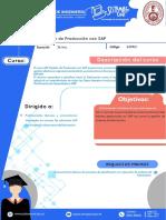 GestiónDeProducciónCon SAP