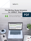 99 Day Study Schedule for USMLE Step 1
