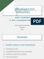 4. Ingeniría Sísmica - Diseño Sísmico Por Desempeño Udea 2015