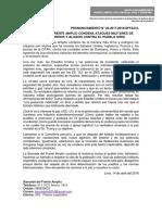 BANCADA DEL FRENTE AMPLIO CONDENA ATAQUES MILITARES DE ESTADOS UNIDOS Y ALIADOS CONTRA EL PUEBLO SIRIO