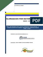 Val. Por Mayores Metrados 01 - Marzo - 2017 - Curibaya