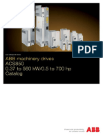 Abb Machinery Drives Catalog Acs850