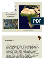 Spread of English (Africa)