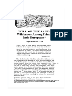 Will of the Land Wilderness Among Primal Indo Europeans_OCR