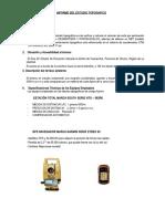Informe Topografico-cal. Volumen