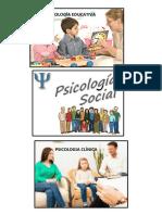 Psicologia Ramas