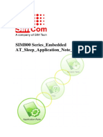 SIM800 Series Embedded at Sleep Application Note_V1.01