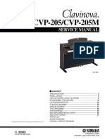 Yamha CVp205 Manual