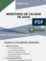 Monitoreo de La Calidad Del Agua