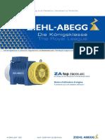 ZIEHL-ABEGG Operating Instructions ZAtop SM200 40C a-TBA10 04-F Fr 1626