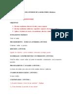Instrucciones Del Informe de Med Medicina Word