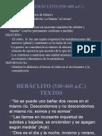 3. HERÁCLITO
