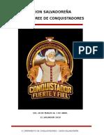 Manual de 3 Camporee Conquistadores 2018