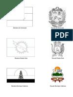 Banderas, Escudos e Himnos de venezuela, estado Zulia municipio Cabimas
