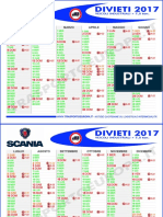 Calendario Divieti Circolazione Camion 2017
