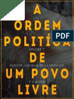 F. a. HAYEK - Direito, Legislação e Liberdade Vol 3 (Pronto Para Release)