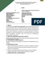 Sílabo Apicultura y Pisicultura