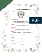 Gestion Empresarial - Fundación y Asociación
