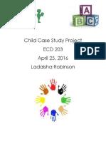 Child Case Study ECD 203lr