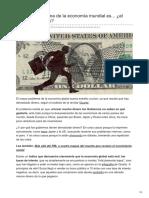 Actualidad.rt.Com-El Mayor Problema de La Economía Mundial Es El Exceso de Dinero