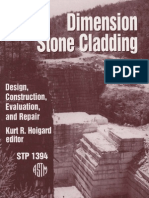 Dimension Stone Cladding Design, Construction, Evaluation, And Repair
