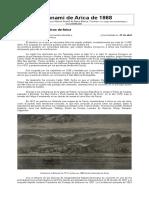 El Tsunami de Arica de 1868
