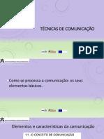 Técnicas de Comunicação 1