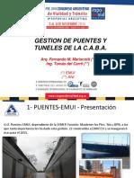Gestión de Puentes y Túneles