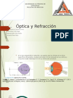 Optica y Refraccion