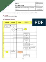 Manual de Politicas y Procedimientos Recepcion de Mercancia