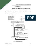Chap3 - Seperators and Seperation Techniques