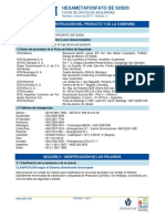Hexametafosfato de Sodio ficha tecnica
