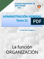 3 Tema 11 P P R - Organización 01.09.16