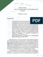Lado, S Romanin, E - La Construccion Sociologica (1er Parte)