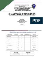 Shampoo Queratolitico