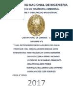 Determinacion de La Dureza Del Agua Labo 6 (1)