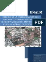 Estudio de La Contaminación Del Aire Por Contaminantes Sólidos Sedimentables
