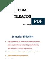 Tildación