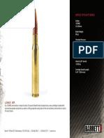 M33BALL Barrett Headstamp Product Brochure